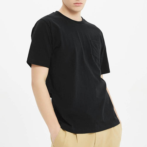 Boysnextdoor Heavyweight Pocket Tee Black