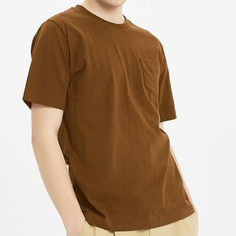 Boysnextdoor Heavyweight Pocket Tee Brown