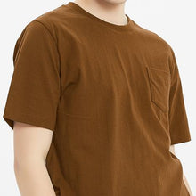 Load image into Gallery viewer, Boysnextdoor Heavyweight Pocket Tee Brown