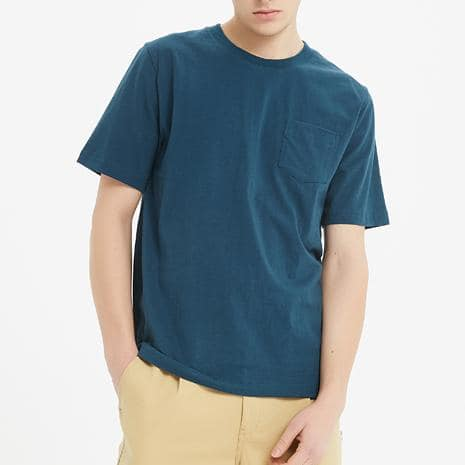 Boysnextdoor Heavyweight Pocket Tee Denim Blue