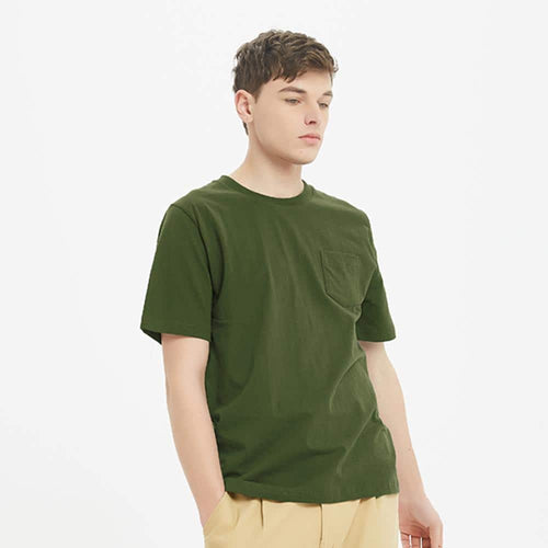 Boysnextdoor Heavyweight Pocket Tee Green