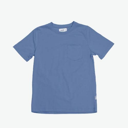 Boysnextdoor Heavyweight Pocket Tee Indigo