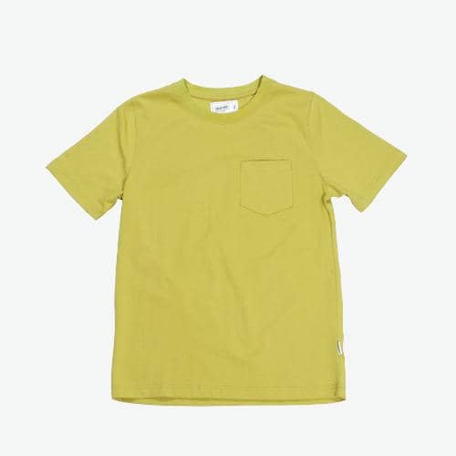 Boysnextdoor Heavyweight Pocket Tee Mustard