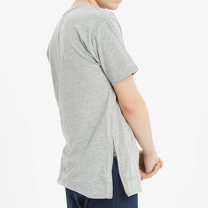 Boysnextdoor Long Pocket Tee Grey