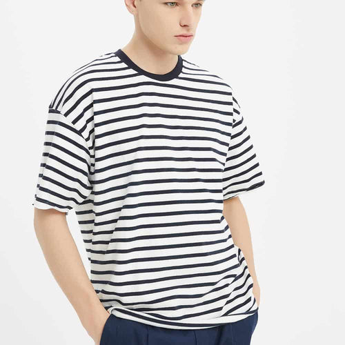 Boysnextdoor Oversize Stripes Tee