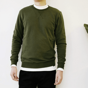 Boysnextdoor Patchwork Sweater Green