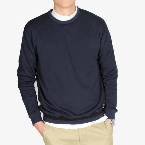 Boysnextdoor Patchwork Sweater Navy