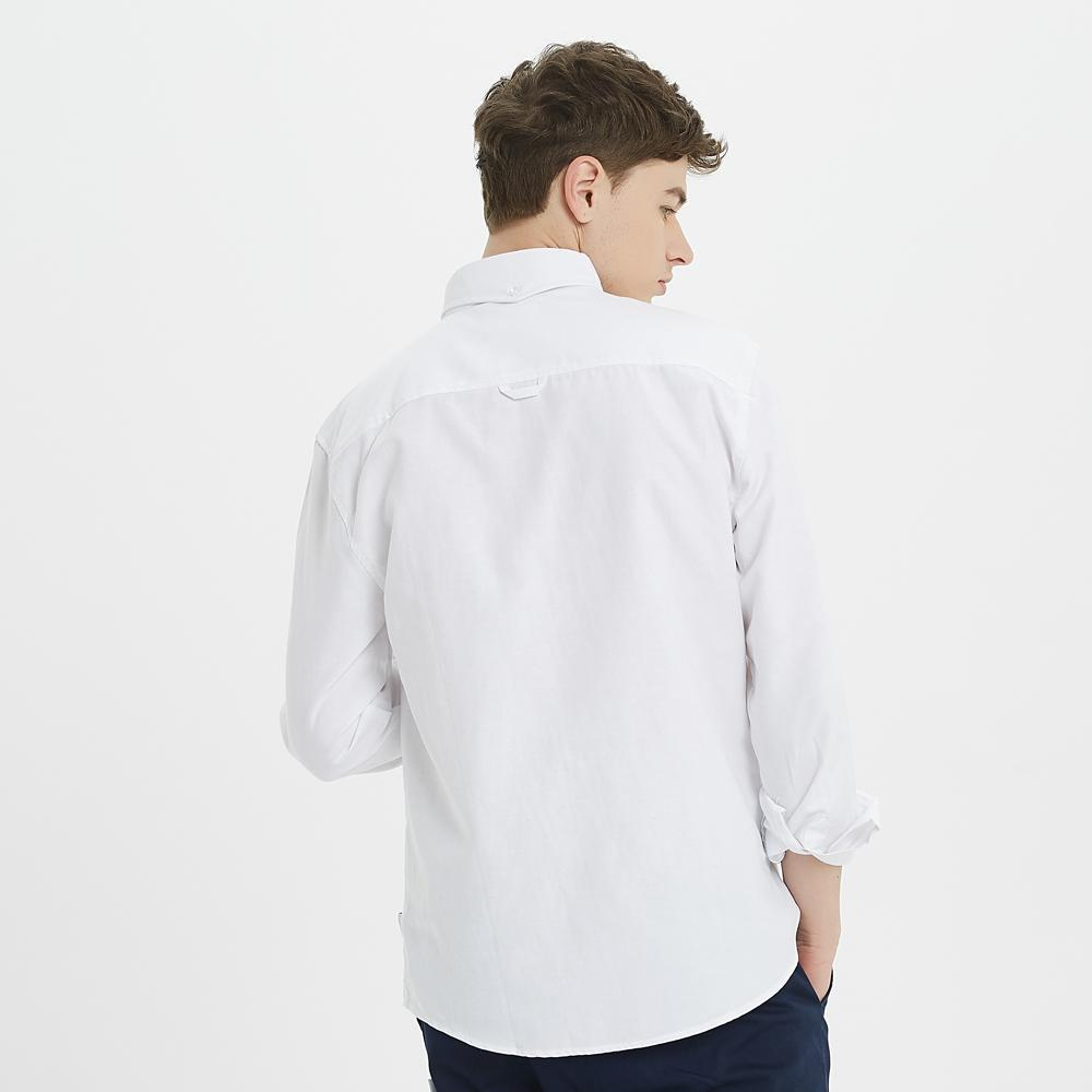 Boysnextdoor Plain Oxford Shirt White