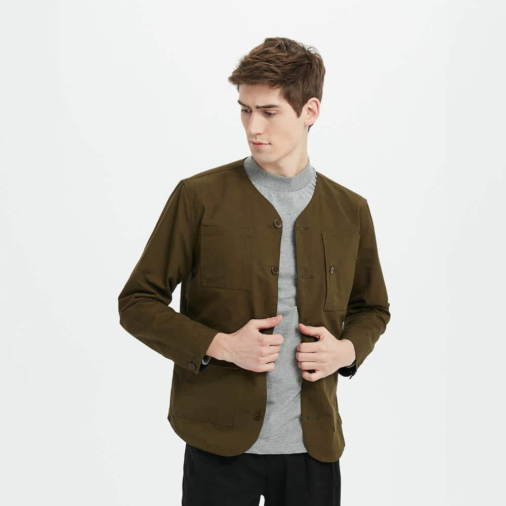 Boysnextdoor Reversible Jacket Green And Black