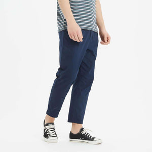 Boysnextdoor Tapered Cropped Chino Pants Navy