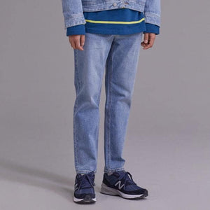 Boysnextdoor Tapered Cropped Denim Washed