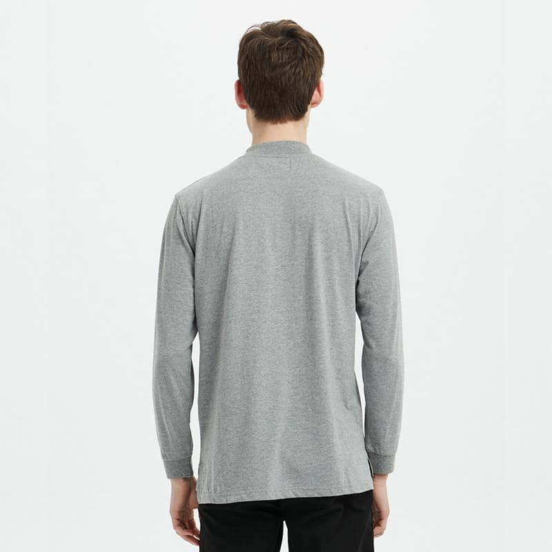 Boysnextdoor Turtle Neck L/S Tee Grey