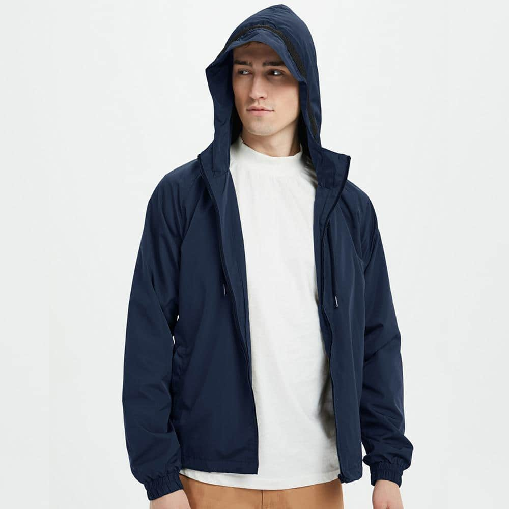 Boysnextdoor Water Resistant Windbreaker Navy