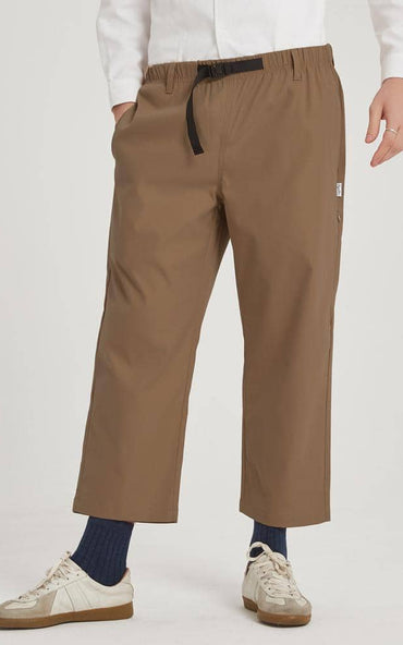 Boysnextdoor Wide Ankle Pants Brown