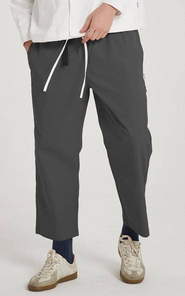 Boysnextdoor Wide Ankle Pants Grey