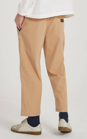 Boysnextdoor Wide Ankle Pants Khaki