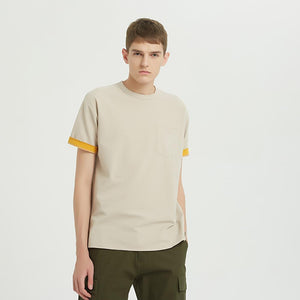 Boysnextdoor Wide Pocket Tee Beige