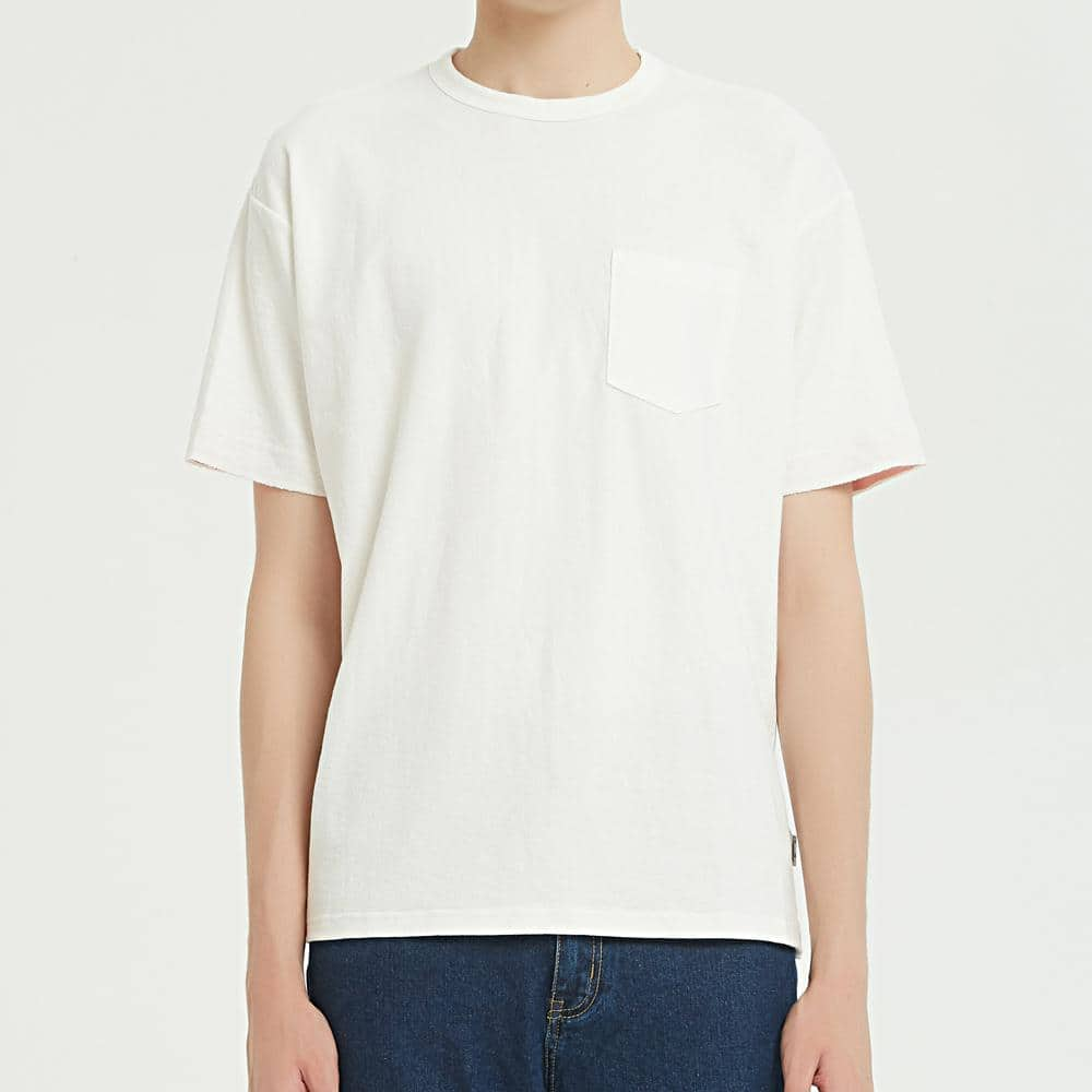Boysnextdoor Wide Pocket Tee White