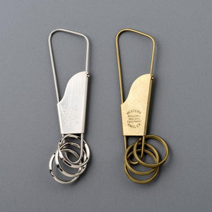 Candy Design & Works Holger Keyring in Nickel