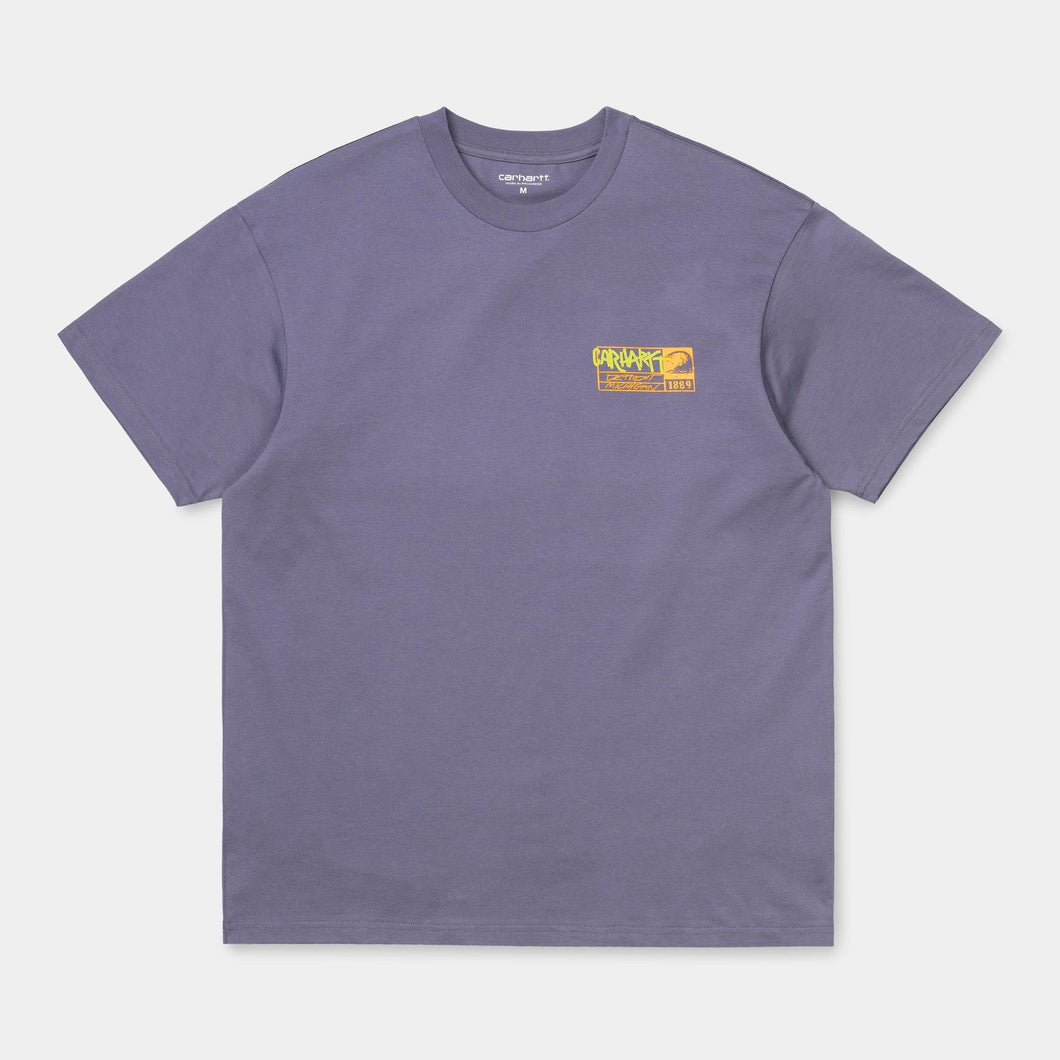Carhartt WIP No Surf T-Shirt Purple