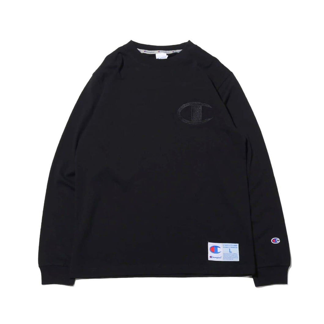 Champion AS Logo L/S T-shirt Black