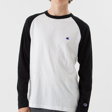 Load image into Gallery viewer, Champion Basic Raglan L/S T-shirt BW ( C3-P402)
