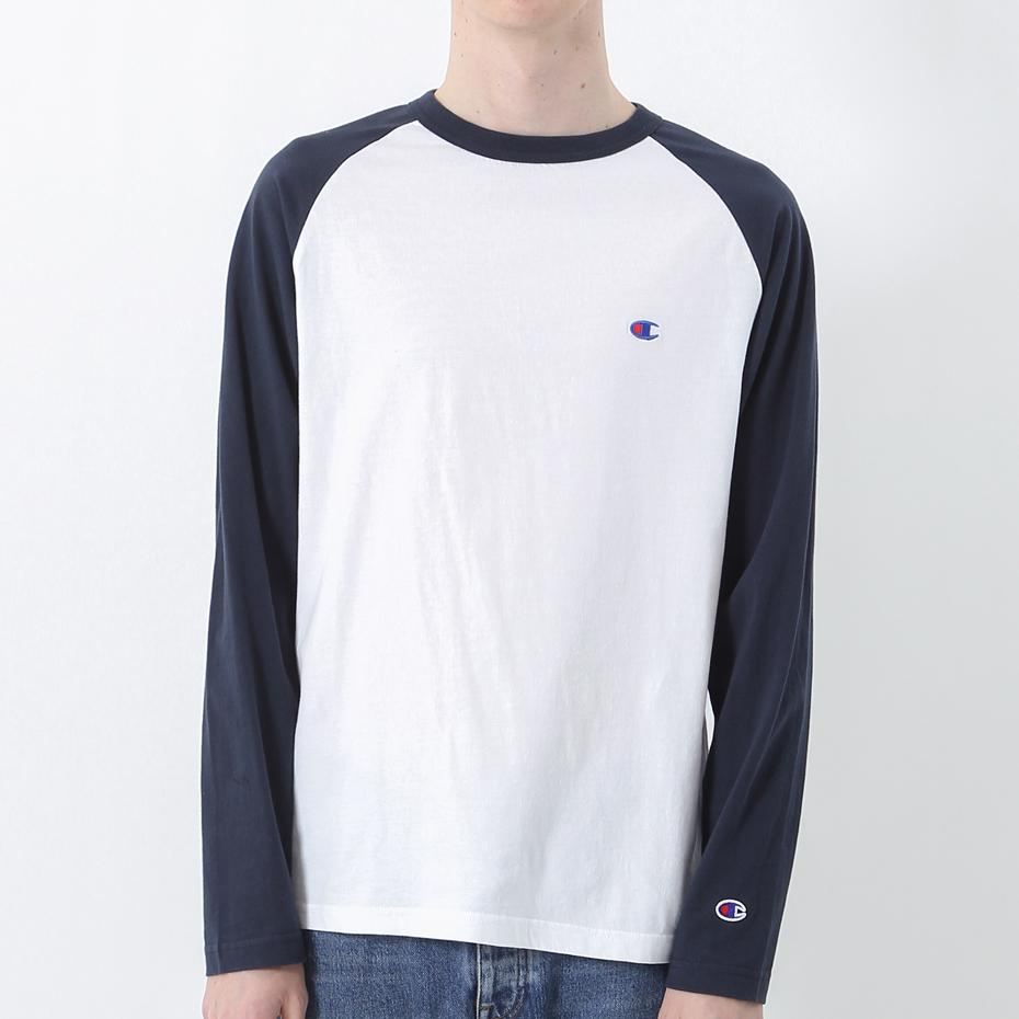 Champion Basic Raglan L/S T-shirt NW ( C3-P402)
