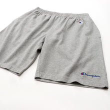 Load image into Gallery viewer, Champion Basic Script Logo Shorts Grey