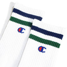 Load image into Gallery viewer, Champion Full Length Line Socks 3P