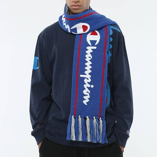Champion Life® Reversible Knit Scarf in Blue