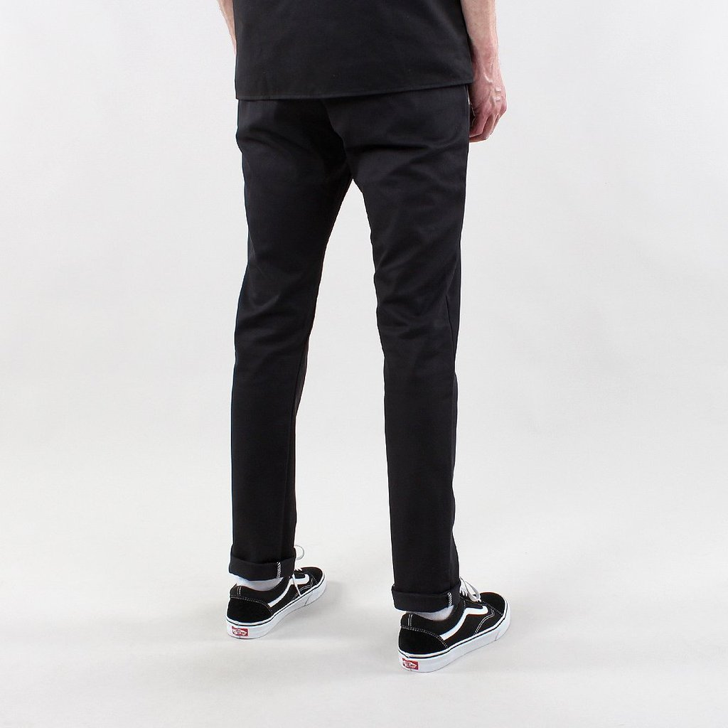 Dickies 803 Skinny Fit Work Pants in Black