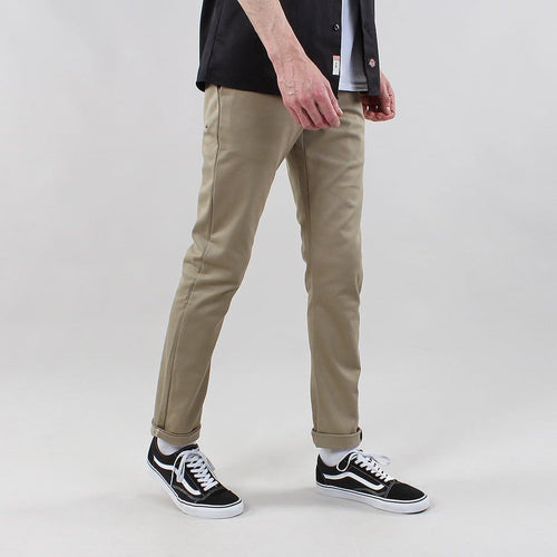 Dickies 803 Skinny Fit Work Pants in Khaki