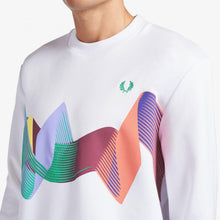 Load image into Gallery viewer, Fred Perry Abstract Sport Sweatshirt