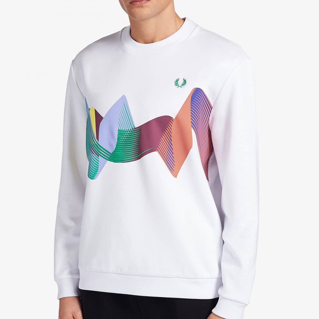 Fred Perry Abstract Sport Sweatshirt