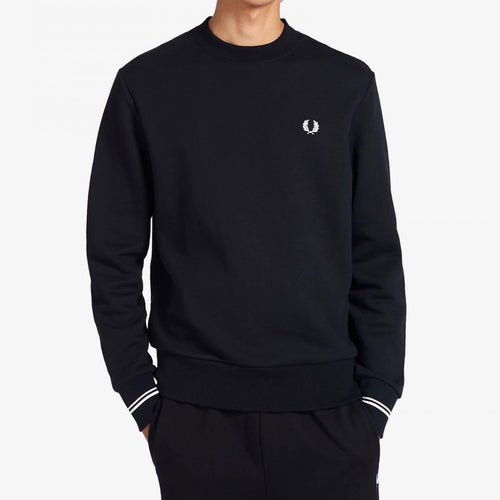 Fred Perry Crewneck Sweatshirt Black