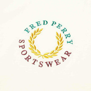 Fred Perry Embroidered T-Shirt White