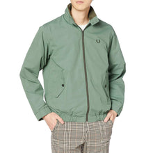 將圖片載入圖庫檢視器 Fred Perry Japan Shirt Harrington Jacket Green