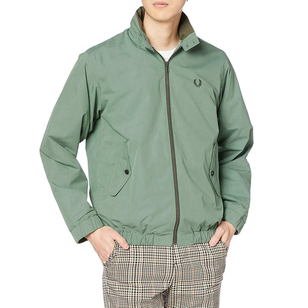 Fred Perry Japan Shirt Harrington Jacket Green