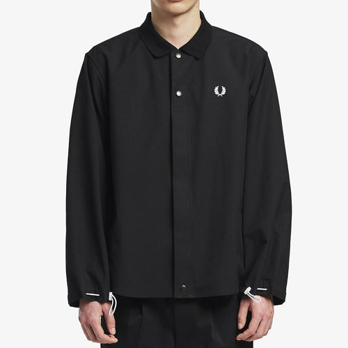 Fred Perry Japan Shirt Jacket Black