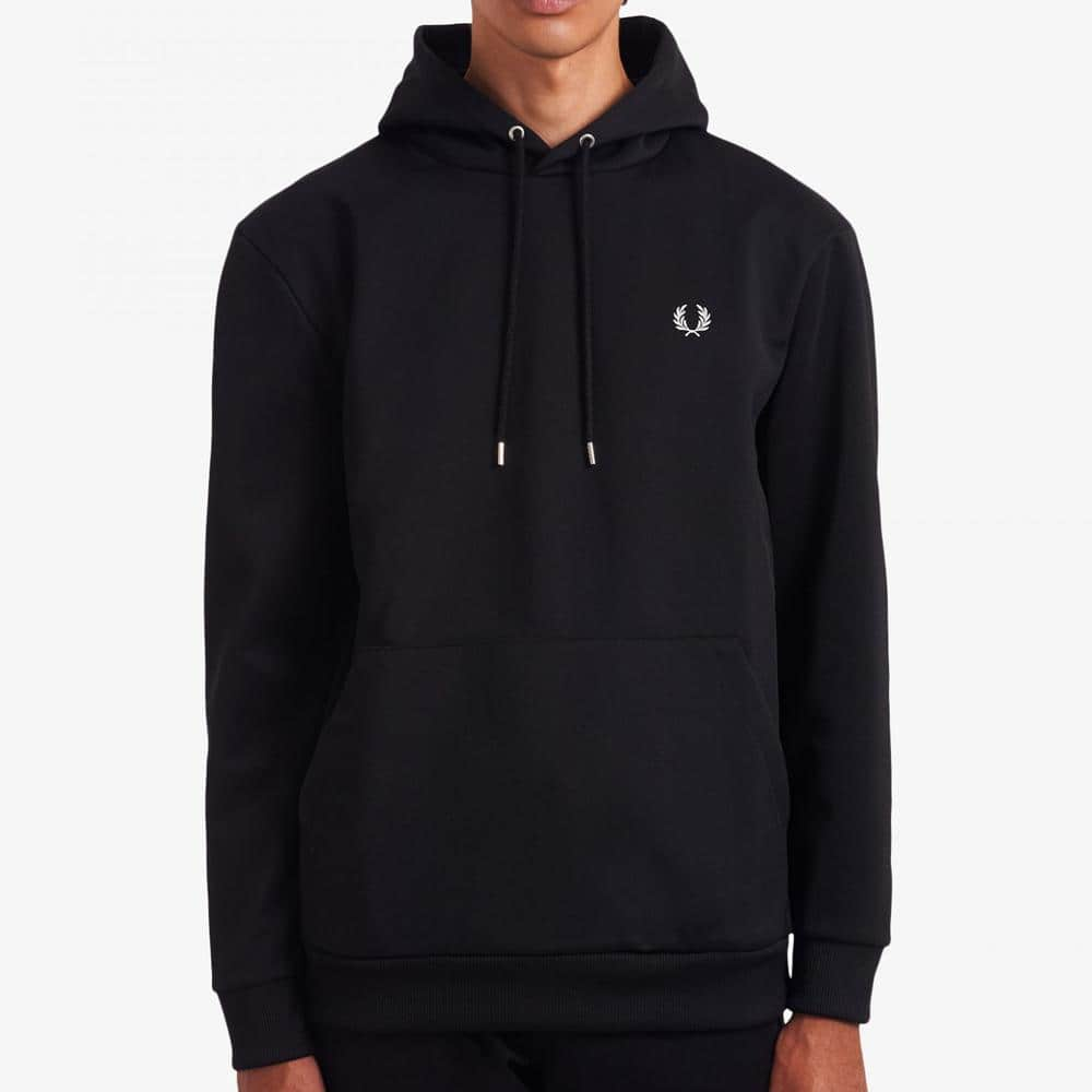 Fred Perry Laurel Wreath Hooded Sweatshirt