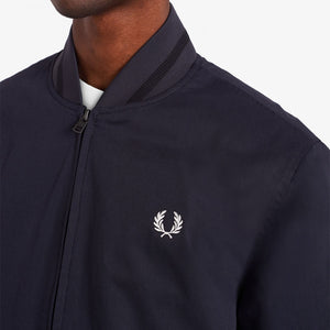 Fred Perry Tennis Bomber Jacket Navy
