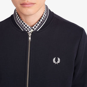 Fred Perry Zip Bomber Black