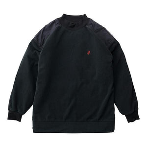 Gramicci Fleece Turtle Neck Sweatshirt Black
