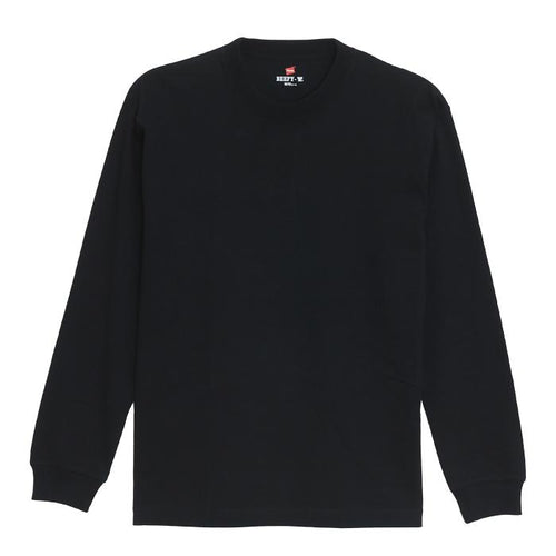 Hanes Beefy Heavyweight L/S Tee Black