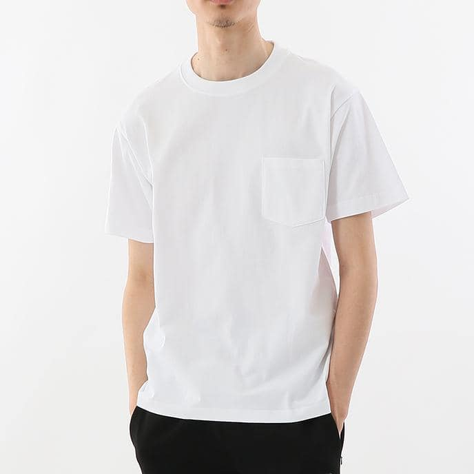 Hanes Beefy Heavyweight Pocket Tee White
