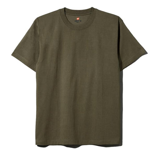 Hanes Beefy Heavyweight Tee Army Green