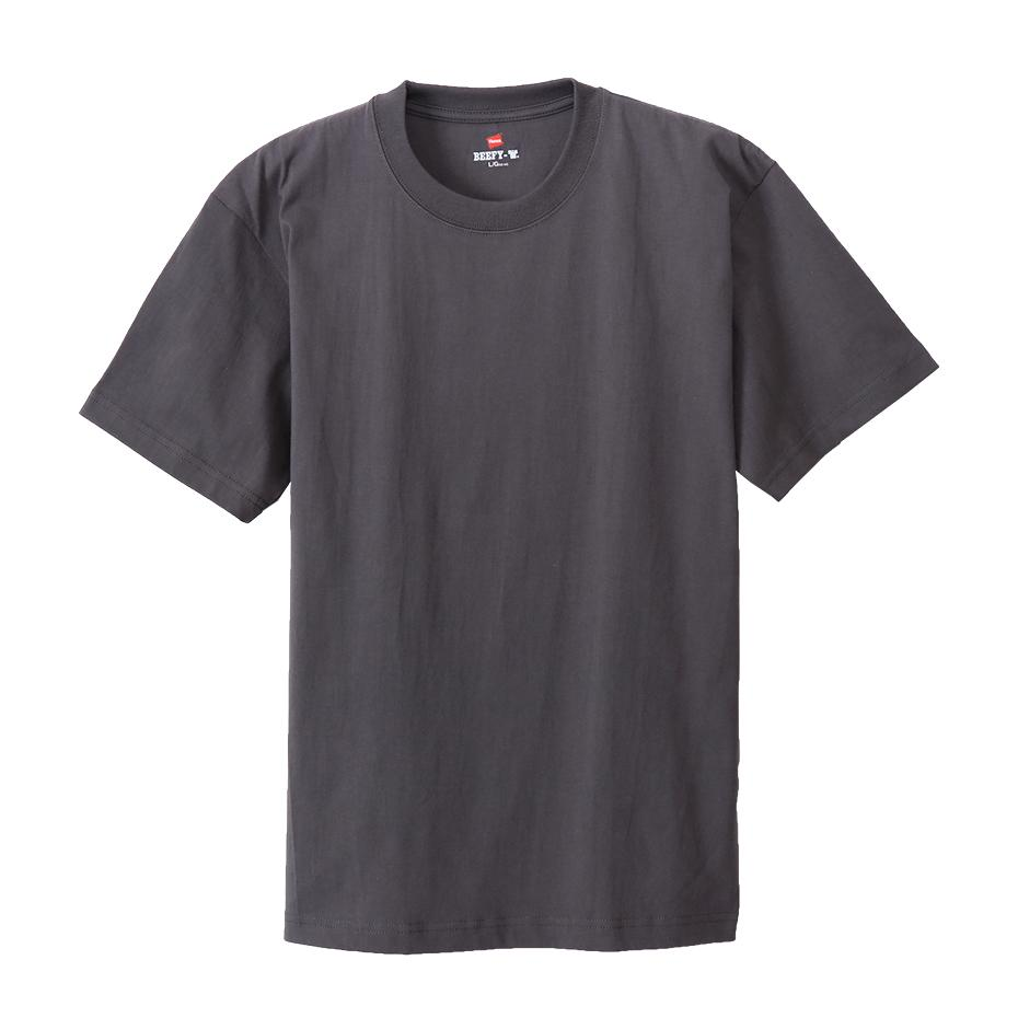 Hanes Beefy Heavyweight Tee Dark Grey