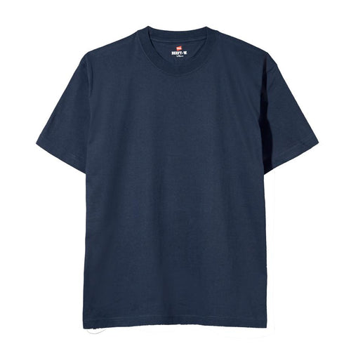 Hanes Beefy Heavyweight Tee Navy