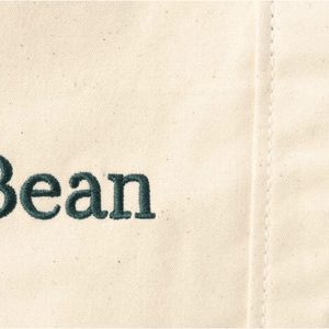 LL Bean Plain Canvas Tote Cotton