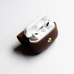 Leather Factory Roberu AirPods Pro Case Natural Tan